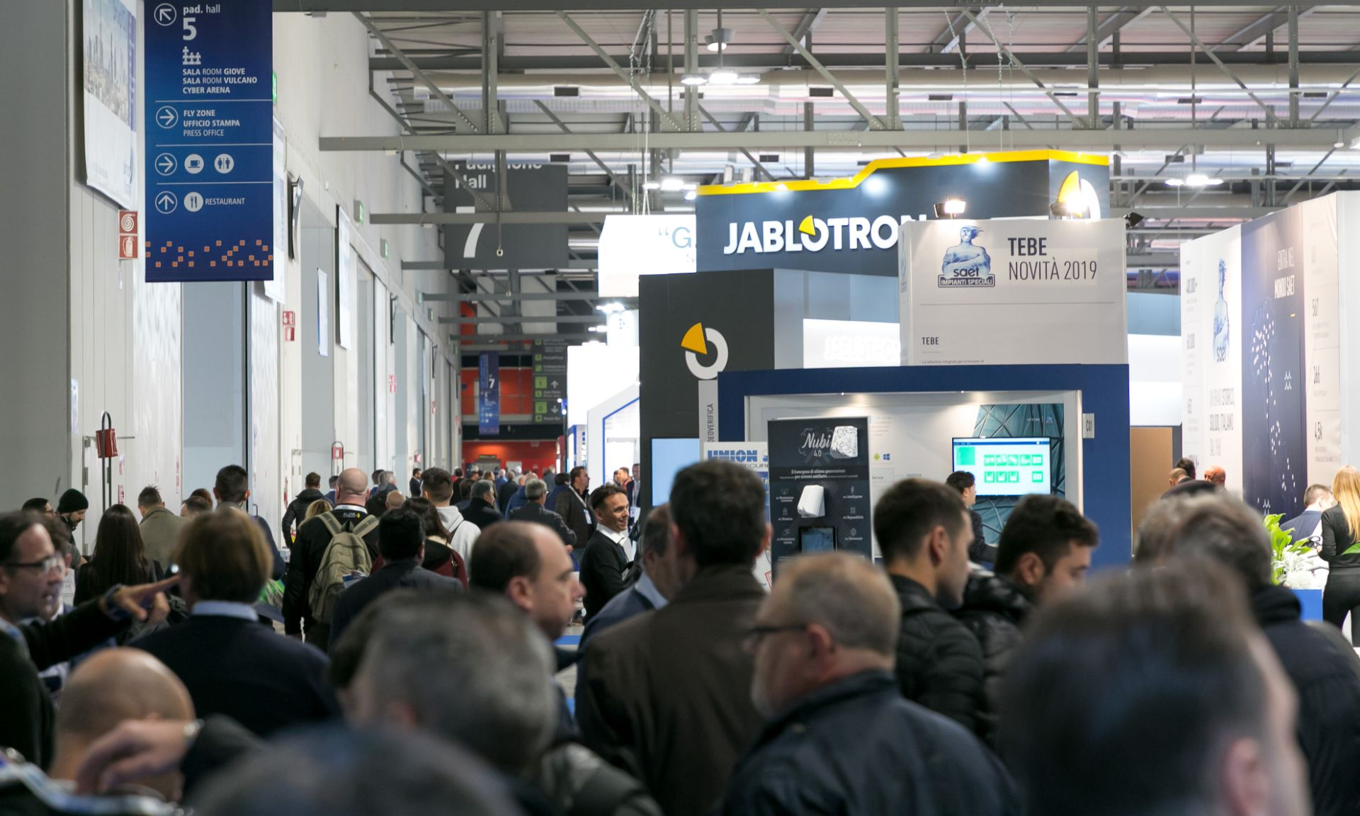 SICUREZZA and Smart Building Expo close with more than 28,000 attendees
