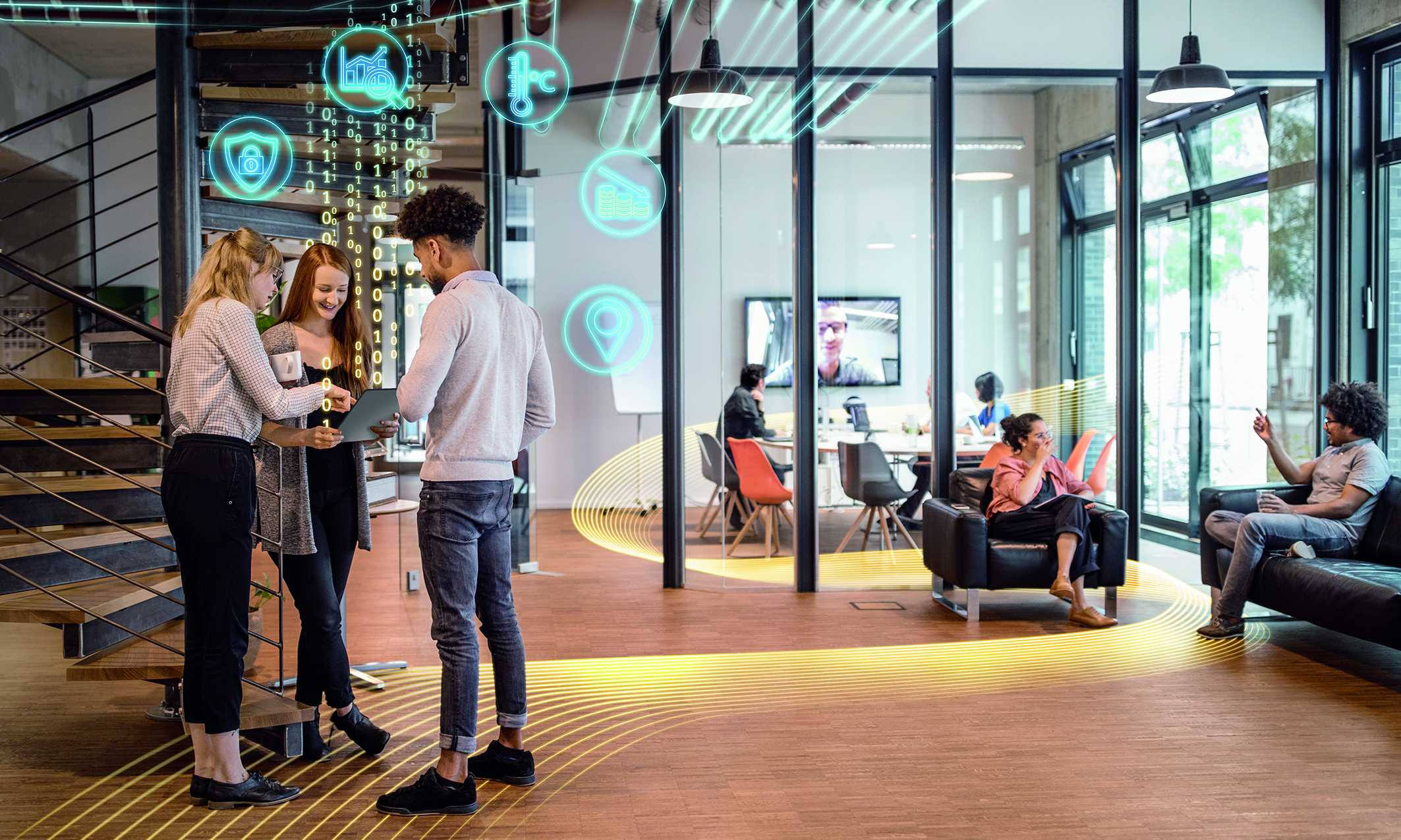 New smart building suite enables peoplecentric workplace experience